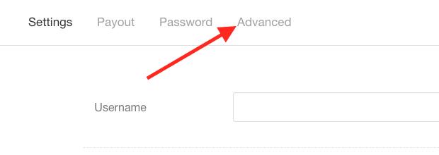 """Click """"Advanced""""."""