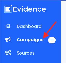 1. Click Campaigns from the main menu (Should I delete a campaign?)